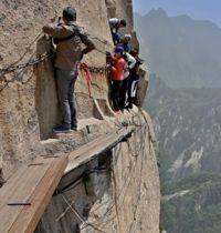 Po schodech do nebe na nejnebezpečnější stezku světa