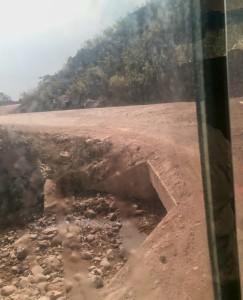 Silnice za laoskou hranicí