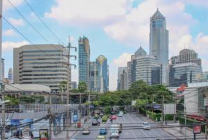 Bangkok z nadhledu