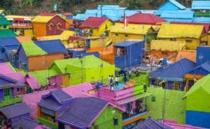 Barevné střechy