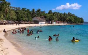 Pláž u Calbayogu