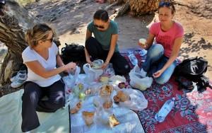 Piknik v kaňonu