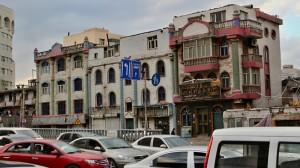 Stará ujgurská zástavba