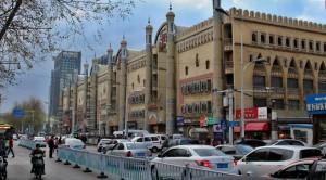 Obchodní galerie po Ujgursku