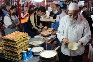 Vaječný nápoj - Lanzhou
