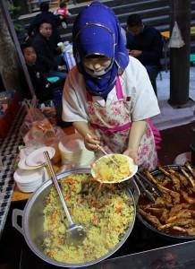 Večeře v Lanzhou - Skopové s rýží