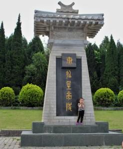 Nad mohylou Qin Shi Huanga