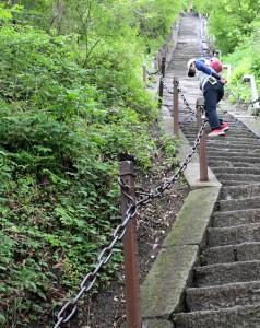 Delší schody