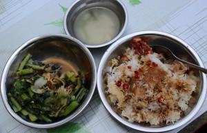 Pečená rýže a ostatního si nandej, co libo - Guilin