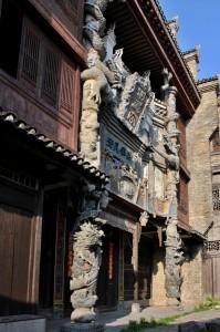 Dřevěný chrám v Daxu