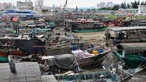 Beihai - část přístavu