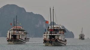 Ha Long - výlet lodí