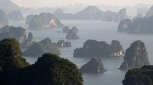 Ha Long z nadhledu