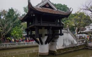 Jedno-pilířová pagoda