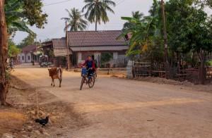 Laoská vesnička