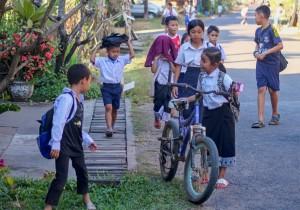 Laoské děti