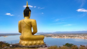 Buddha nad Mekongem